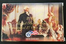 2009 U.S. Mint Presidential 1$ Dollar Coin Proof Set Complete With Box & COA