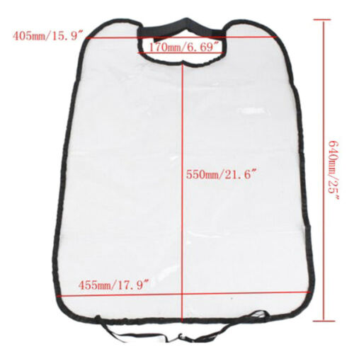 Car Seat Back Protector Cover for Child Baby Kick Pee Protective Film No-Washing