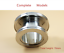 ISO80-100-160-to-ISO63-80-100-Straight-Nipple-Reducer-High-Vacuum-Fitting thumbnail 3