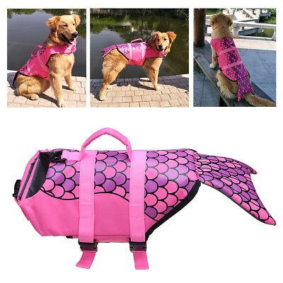 Universal Dog Life Jacket Pet Swim Clothing Float Coat ...