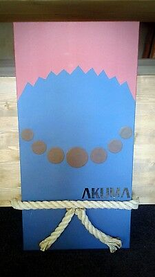handmade Canvas Arredamento Crea Akuma Intellective Street Fighter Tela 30x60