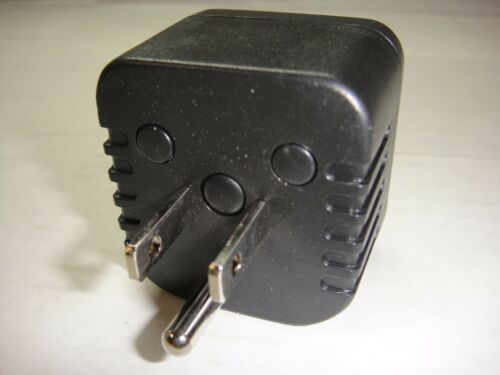 Australia//New Zealand China Plug into 3-Pin US Plug US Grounded Plug Adapter