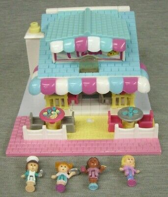 1993 VINTAGE POLLY POCKET-Toy Shop No DOLL-Bluebird Toys-TOY STORE