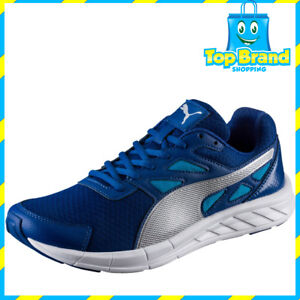 Image is loading Puma-Mens-Blue-Running-Shoes-Joggers-Gym-Workout- 30d16c883