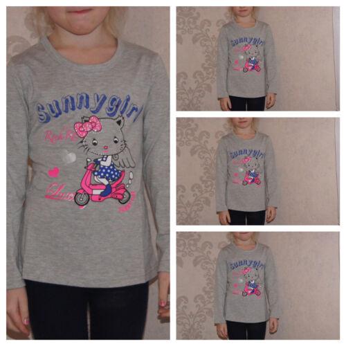 Shirt,T-Shirt,Langarmshirt,Mädchen,Rot,Gr.92,98,104,110,116,128,134,140,146,152