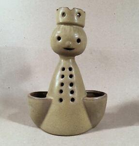 STONEWARE-DESIGNS-WEST-Los-Angeles-CA-Vintage-Happy-Face-Figural-Planter-Vase