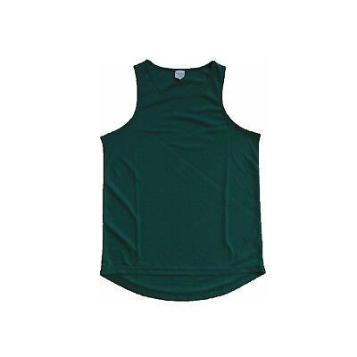 AWDis Herren Laufshirt Shirt Fitness Joggen Laufen JC007 Grün NEU E1-55