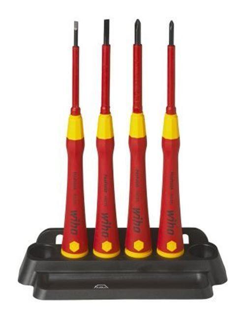 Wiha Tools Set Cacciaviti, 4 Pezzi - Elettrico