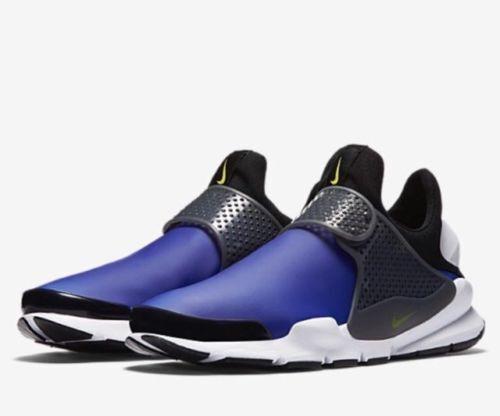 Nike Nike Nike Sock Dart SE Size 10 Men's shoes Paramount bluee Black Dark Grey 911404-400 7802f2