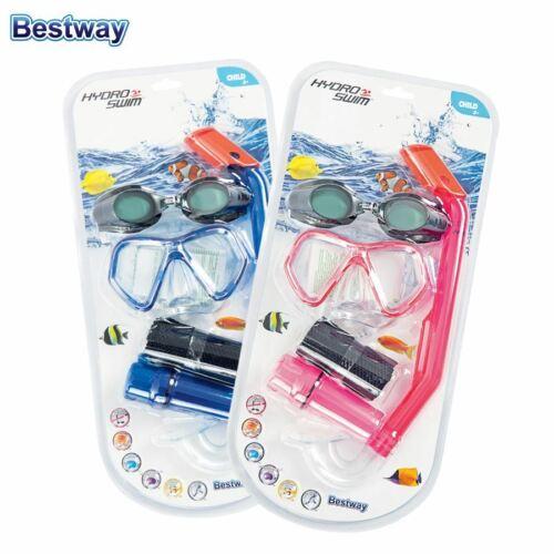 Bestway Kinder-Schnorchelset Taucherbrille Schwimmbrille Schnorchel Strandbox