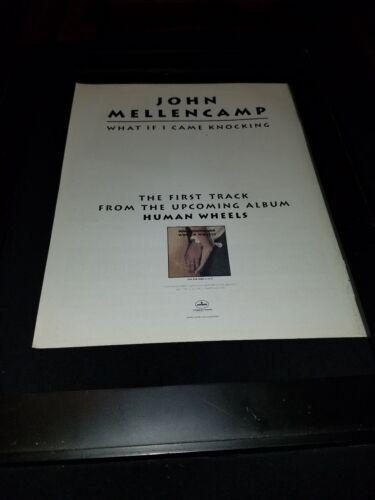 Framed John Cougar Autograph Replica Print 8x10 Print