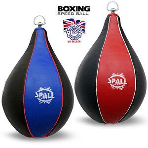 DéVoué Authentique En Cuir Speed Ball Boxe Punch Bag Mma Vitesse Sac Training-afficher Le Titre D'origine Soyez Amical Lors De L'Utilisation
