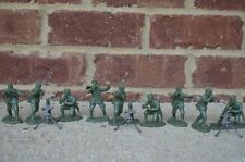 WWII German Infantry Mortar Section Russians Partisan Soldiers 1/32 54MM