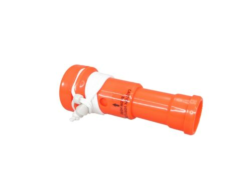 Pactrade Marine Boat Horn Safety Blaster Orange ABS Plastic Float 115DB Loudness