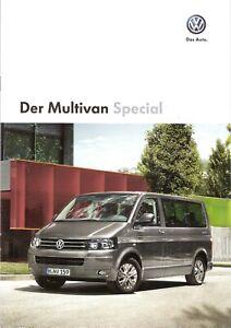 Charmant Prospectus/brochure Vw Multivan Spécial 05/2013 Avec Liste De Prix-afficher Le Titre D'origine Toujours Acheter Bien