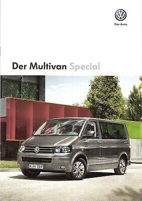 Prospekt / Brochure Vw Multivan Special 05/2013 Mit Preisliste Blijf Je Altijd Fit
