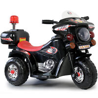 Kindermotorrad Elektromotorrad Kinder Elektro Polizei Motorrad Fahrzeug Neu Bl33
