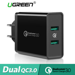 info for 76119 d97f8 Details about Ugreen USB Wall Charger Adapter Quick Charge 3.0 2.0 for  iPhone X 8 Samsung S9
