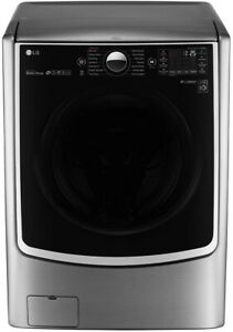(NEW) LG 4.5 CU. FT. SMART WI-FI ENABLED FRONT LOAD WASHER