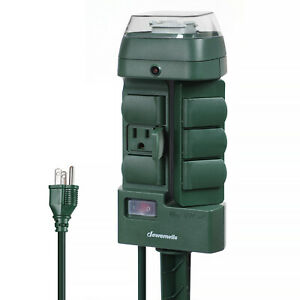 DEWENWILS-Outdoor-Power-Strip-Stake-Timer-Switch-Weatherproof-Outlet-HOYS16M