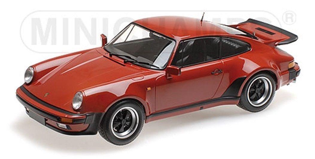 Mini Mini Mini hamps 1977 Porsche 911 turbinas Perú 1  12 autos nuevos 100 piezas e12