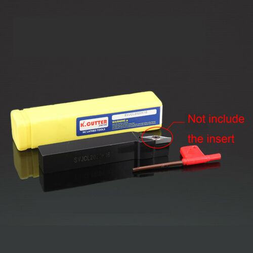 SVJCL 1616H16 93 degree external turning tool holder and lathe tool holder