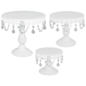 3Pcs-Cakes-Stands-Crystal-For-White-Metal-Cupcakes-Holder-Wedding-Party-Display