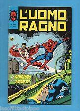 SUPER EROI - L'UOMO RAGNO - CORNO -N.270- 5 SETTEMBRE 1980 - NON DI RESA -BELLO