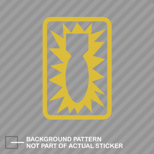 52nd Ordnance Group Sticker Decal Vinyl eod