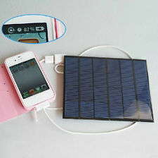 6v 3.5w 580-600MA solar panel USB Solar Battery Charger For phone MP3 MP4 PDA