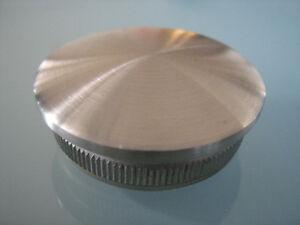 Fenêtres Rohrstopfen Inox Couvercle Courbé Acier Inoxydable v2a pour tube 33,7x2,0