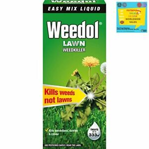 Lawn Weed Killer Concentrate Liquid Kills Weeds Dandelions Daisies Not Lawns New