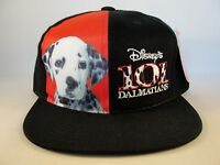 Kids Youth Size 101 Dalmatians Vintage Snapback Hat Cap Black Red