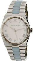 Michael Kors Women's Channing MK6150 Silver Stainless-Steel Quartz Watch