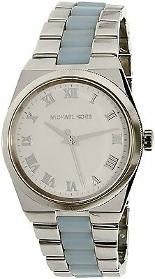 Michael Kors Women's Channing MK6150 Silver Stainless-Steel Quartz Dress Watch