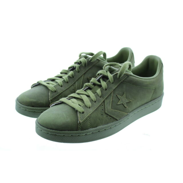 7119985a5912 Converse Adult Lunarlon All Star Low Top Shoes 156461C Fatigue Green 8.5M    10W