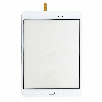 white Samsung Galaxy Tab A 8.0 SM-T350NZ Touch Screen Digitizer Glass Lens