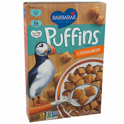 Refreshing And Enriching The Saliva 10 Oz. Cinnamon Straightforward Puffins Cereal