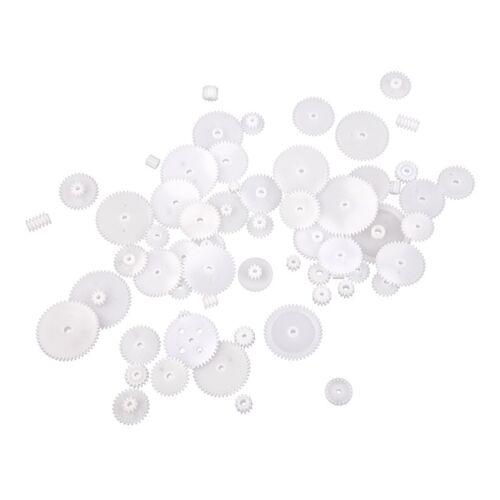 Plastic Gears Zahn-Raeder alle Modul 0,5 Roboterteile DIY Notwendi C1W7 2X