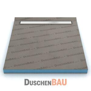 duschelement mit alca apz106 rinne 90x140 cm befliesbar bodeneben duschboard ebay. Black Bedroom Furniture Sets. Home Design Ideas