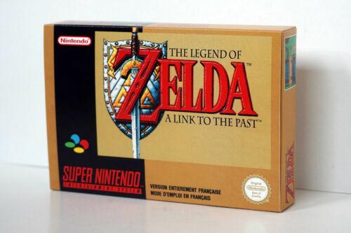 Boîte SNES Zelda A Link to the Past SFRA