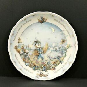 Royal-Doulton-Owl-Pussycat-Plate-Christine-Thwaites-Danced-By-the-Light-of-Moon