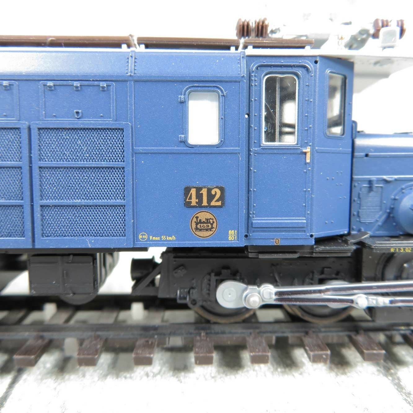 BEMO 1255 142 - H0m - RhB 412 - - -  Ge 6 6 75J. Glacier Express - OVP  U22198 dc50cb