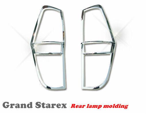 Rear Lamp Garnish Chrome Molding For Hyundai  Grand Starex(2007~on) imax H1 ////