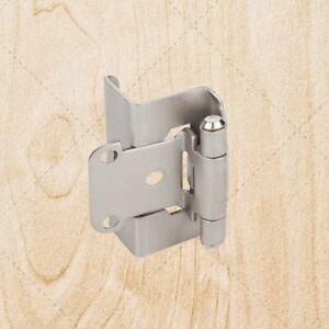 Full-Wrap-Self-Closing-Cabinet-Hinge-Satin-Nickel-1-2-034-Overlay-3-4-034-Frame-hs541