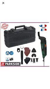 PARKSIDE® Outil-multifonction-PMFW-310-D2-310-W  set accessoires boîte transport