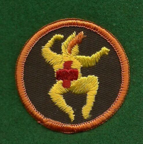 WESTPORT GIRL SCOUT TRY-IT BADGE CT COUNCIL BROWNIE PRE TRY-ITS -FIRST AID