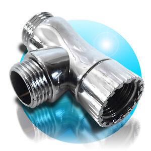 T-Stueck-Fitting-fuer-Bidet-Hygienedusche-Duschkopf-Handbrause-Wasserhahn-Adapter