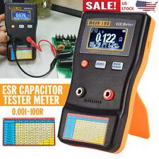 Mesr 100 Esr Capacitance Ohm Meter Cap Resistance Capacitor Circuit Tester Tool