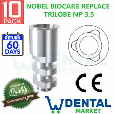 X 10 Nobel Biocare Replace Select Np Implant Lab Analog